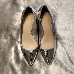 Silver Aldo Galorewen silver shoes